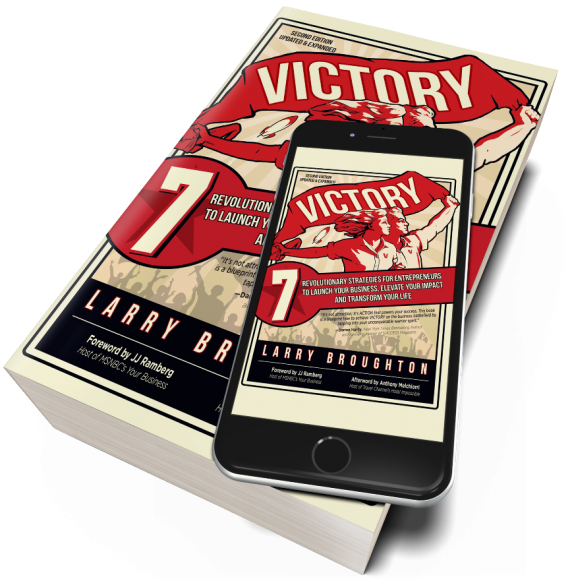 Home - larry broughton victory book on table 572x579